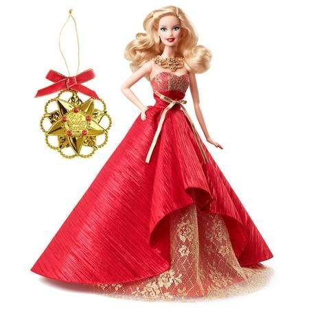 Barbie Collector 2014 - Barbie 2014 Holiday Doll with Ornament