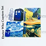 Doctor Who Coaster Set of 4