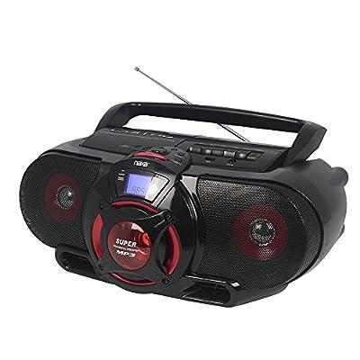NAXA Electronics NPB-273 Portable Boombox