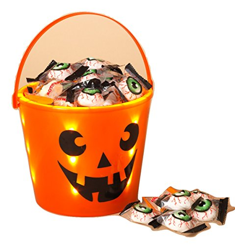Halloween Trick or Treat Light Up Bucket