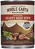 Merrick Whole Earth Farms Hearty Beef Stew – 12 x 12.7 oz For Sale