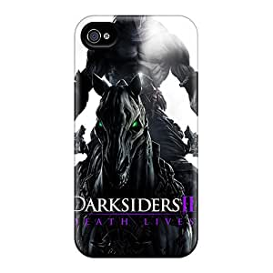 For Iphone 4/4s Protector Case Horseman In Darksiders 2 Phone Cover