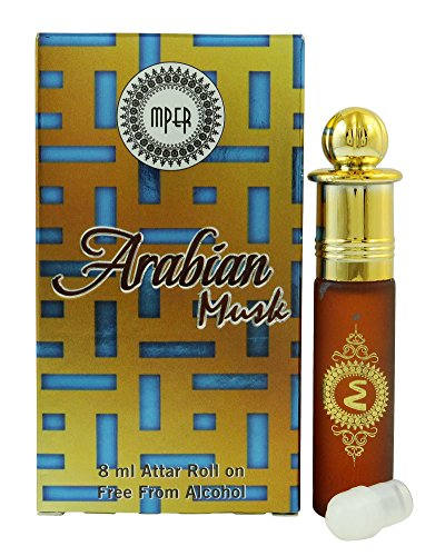 MADNI Arabian Musk Attar Perfume Oil 100% Pure And Natural - 8 ml