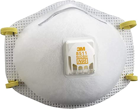 With 8511 Particulate Automotive Respirator ca 3m N95 Valve Amazon