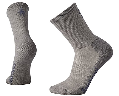 Smartwool Hike Ultra Light Crew Walking Socks - AW16 - Large - Grey