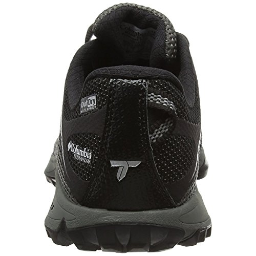 Columbia Conspiracy Titanium Outdry - Zapatos de Low Rise Senderismo Hombre Multicolor - Multicolor (Black/Lux)