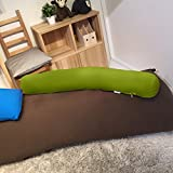 Yogibo Roll Midi (ヨギボー ロール ミディ) 抱き枕 (ライムグリーン)
