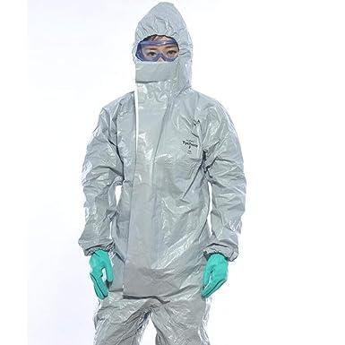 HZTWS Ropa de protección química Experimento de solvente ...