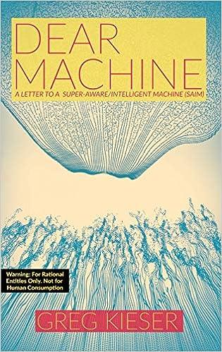 Dear Machine A Letter to a Super-Aware//Intelligent Machine SAIM