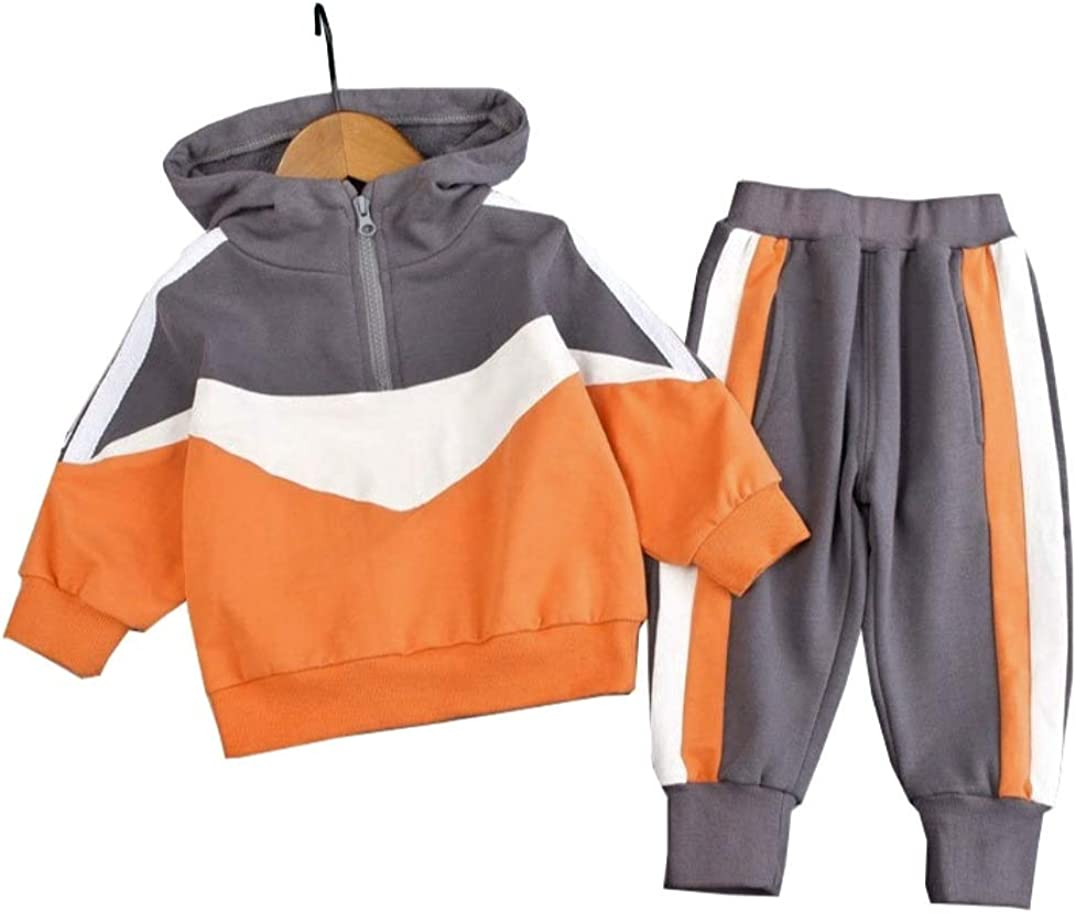 Vintage Among Us Tracksuit Sets for Boys Girls 2 Piece Hoodie Sweater and Sweatpants Suit