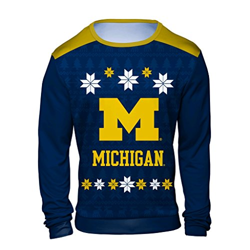 6312810707dd4 Michigan Wolverines Ugly Sweaters