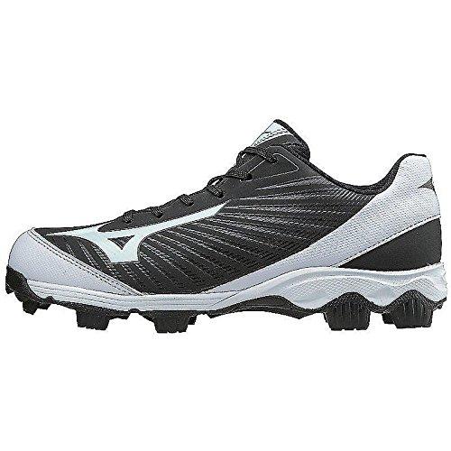 Mizuno (MIZD9) Women's 9-Spike Advanced Finch Franchise 7 Fastpitch Cleat Softball Shoe, Black/White, 9 B US