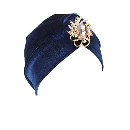 fb47dc2dddf Image Unavailable. Image not available for. Color  Woman Turban Hat ...