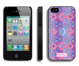 New Unique And Popular iPhone 4S Case Designed With Lilly Pulitzer 35 Black iPhone 4S Cover