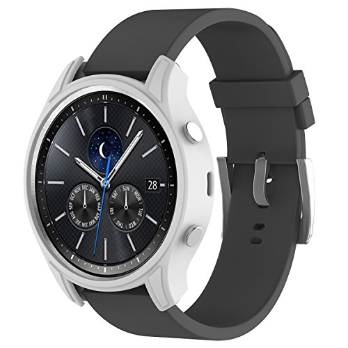 XIHAMA Funda Compatible con Samsung Gear S3 Classic, Anti Golpe Caída Funda Compatible con Samsung Gear S3 Classic SM R770 Deportiva & Fitness ...