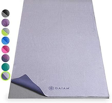 Gaiam - Antideslizante Yoga Toallas - 05-59268, Violeta ...