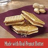Keebler Toast and Peanut Butter Sandwich