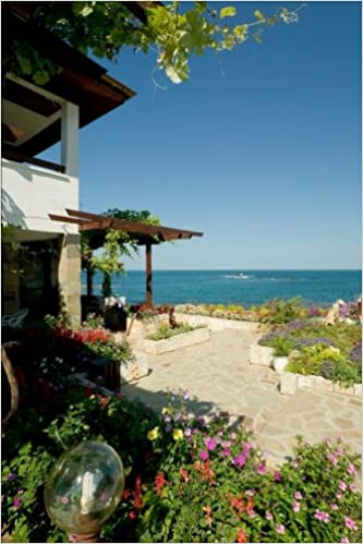 Book Seaside Villa at Black Sea Coast Bulgaria Journal: 150 page lined notebook/diary