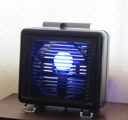 Take Me to Your Leader - color-changing LED light made from vintage heater