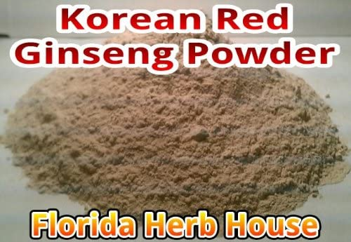 Red Korean Panax Ginseng Powder – 7 Year Ginseng Root Powder 4 oz – 1 4 lb