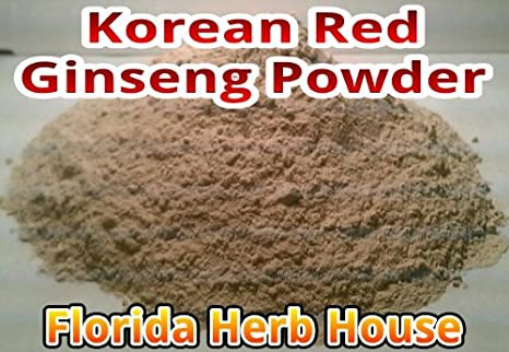Red Korean Panax Ginseng Powder – 7 Year Ginseng Root Powder 2 oz – 1 8 lb