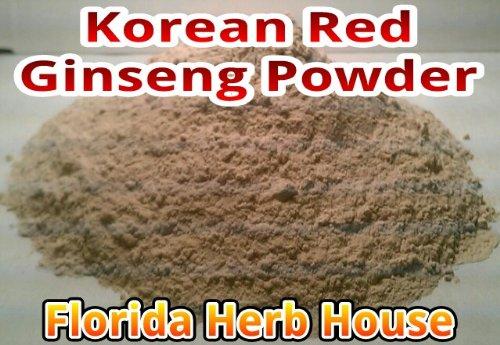 Red Korean Panax Ginseng Powder – 7 Year Ginseng Root Powder 8 oz – 1 2 lb
