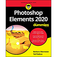 Photoshop Elements 2020 For Dummies (For Dummies (Computer/Tech)) book cover