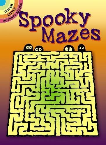 Spooky Mazes (Dover Little Activity Books)