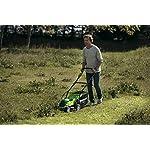 Greenworks-Tools-Tosaerba-a-Batteria-G40LM35K2X-Li-Ion-40-V-Larghezza-Taglio-35-cm-fino-500-m-2-in-1-Pacciamare-Rasare-40-L-Cesto-Erba-con-2-Batterie-2-Ah-e-Caricatore