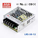 MEAN WELL LRS-50-12 Switching Power Supply 50W 12V 4.2A Constant Current Ultra-thin CCC Certification