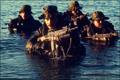 US Navy Seals Poster