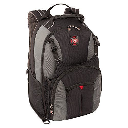 Victorinox Swiss Army 28016050 SWISSGEAR SHERPA DX BACKPACK GREY FITS UP TO 16IN LAPTOP