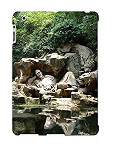 Bhpbui-4565-wmhjeut Tpu Case Skin Protector For Ipad 2/3/4 Forest Sculpture Streams Lakes With Nice Appearance For Lovers Gifts