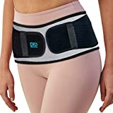 Sacroiliac Hip Belt for Women & Men That Alleviate Sciatica, Lower Back & Lumbar Pain Relief. Diamond Back Brace Provides SI Joint Pelvic Support, Nerve Compression & Stability Anti-Slip (XL/XXL Size)