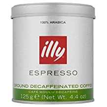 Illy Ground Decaf Coffee - 125g (0.28lbs)