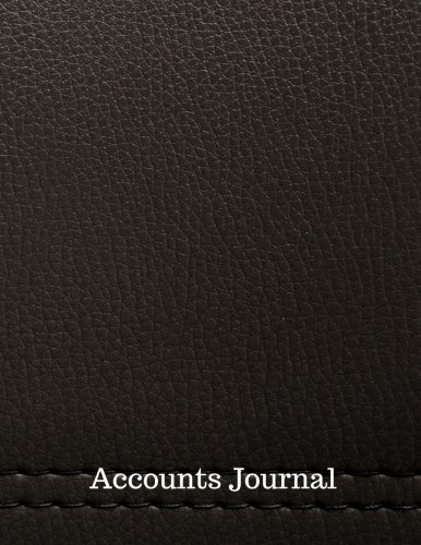 (Accounts Journal: Account Journal : General . Notebook With Columns For Date, Description, Reference, Credit, And Debit. Paper Book Pad with  100 Record Pages 8.5 In By 11 In)