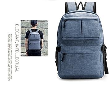 Mochila multiusos unisex eMosQ para la escuela, viajes, deportes, senderismo, trabajo o para llevar el ordenador portátil, azul: Amazon.es: Deportes y aire ...