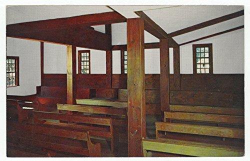 Meeting House of the Society of Friends - Quakers, Old Sturbridge Village, Massachusetts Vintage Original Postcard #2153 - 1960's