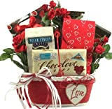 A Lovely Valentine! Valentine's Day Gift Basket of Chocolate's