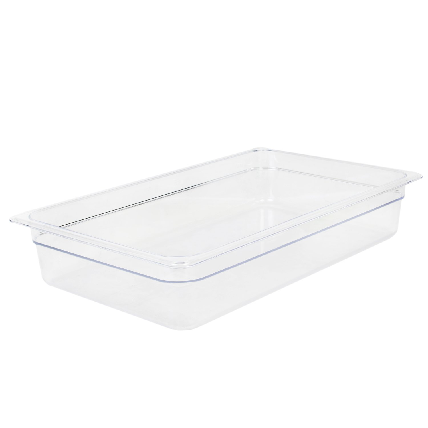 Excellante 849851006942 Deep Polycarbonate Food Pan, 4'', Full Size