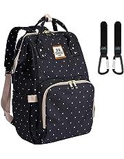 Wickeltasche Rucksack - Multi-Funktions-Wasserdichte Mutterschaft Wickeltaschen für Reisen mit Baby