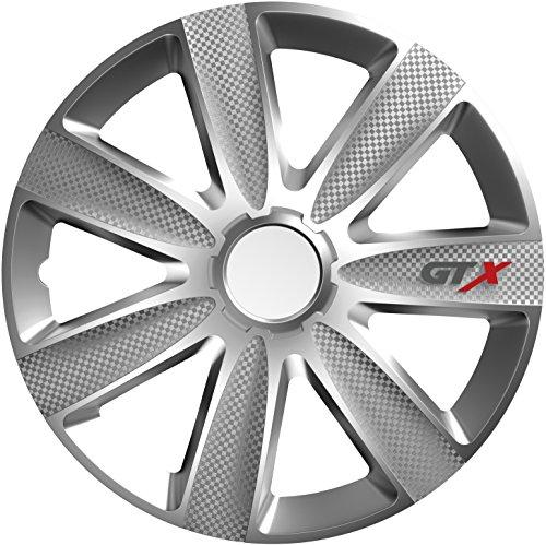 Versaco Wheel Trims - GTX Carbon Silver 16