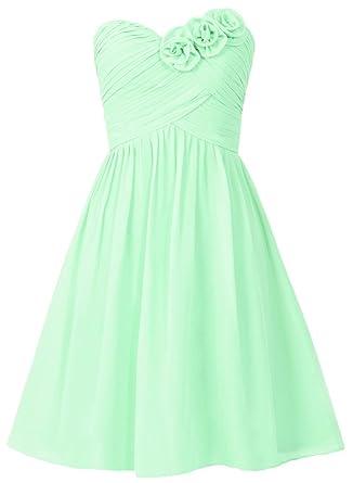 HUINI Damen Modern Kleid Gr. UK 16W, mint