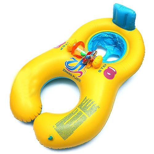 safe-inflatable-mother-baby-swim-float-raft-kids-chair-seat-play-ring-pool-bath