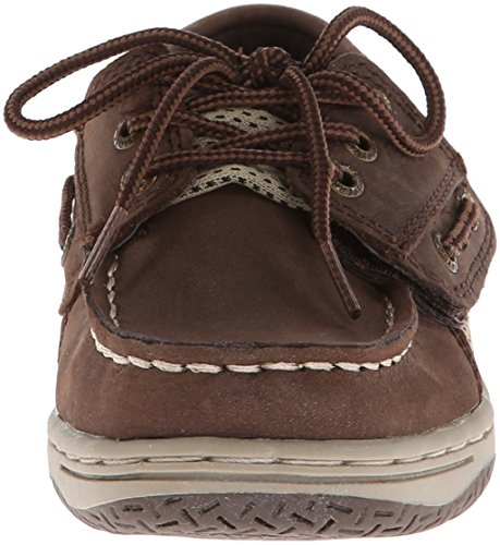 Sperry Billfish Jr Boat Shoe (Toddler/Little Kid) Chocolate