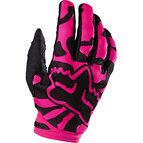 Womens Motorcycle Gloves Pink - 5