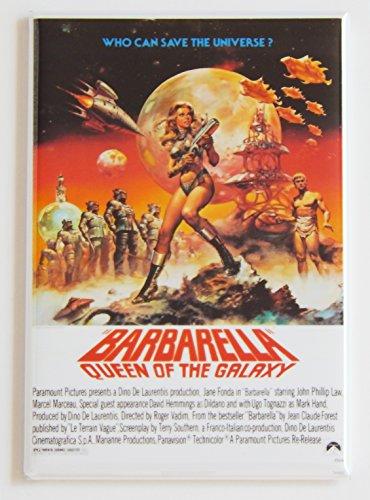 Barbarella Movie Poster Fridge Magnet (2 x 3 inches)