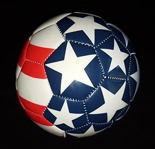 International Flags Mini Soccer Ball (Free Bungee Ball Net) (USA)