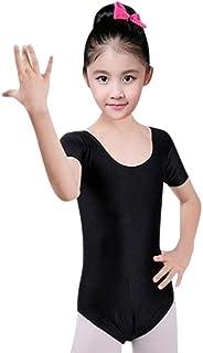 Oyedens Bambina Ragazza Leotard Vestito Tutu Balletto Playsuit Dancewear Body Ginnastica Classico Abbigliamento 3-7 Anni Danza Tuta Abiti Vestiti Minigonna