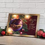 Treasured Friends Lighted Canvas by Holiday PeakTM